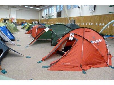 Výstava stanů opět v Plzni