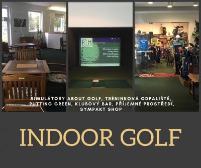 Indoor golf zahájil provoz