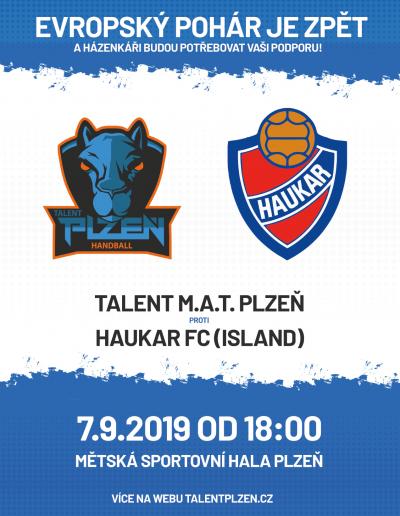 SSK Talent Plzeň - pohár EHF