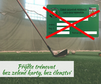 Golf bez zelené karty, golf bez členství