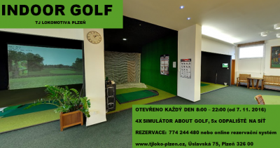 INDOOR GOLF ZAHAJUJE SEZONU 2016/2017