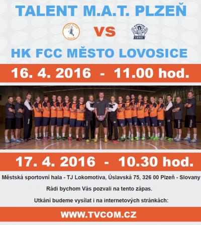SSK Talent M.A.T. Plzeň vs Lovosice - 1.zápas play off