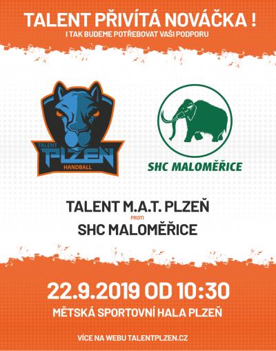 SSK Talent M.A.T. Plzeň - extraliga házené