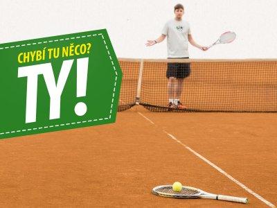 Začíná tenisová VAŠE LIGA