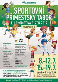 Sportovní Příměstské Tábory 2019 - přihlášky opět spuštěny