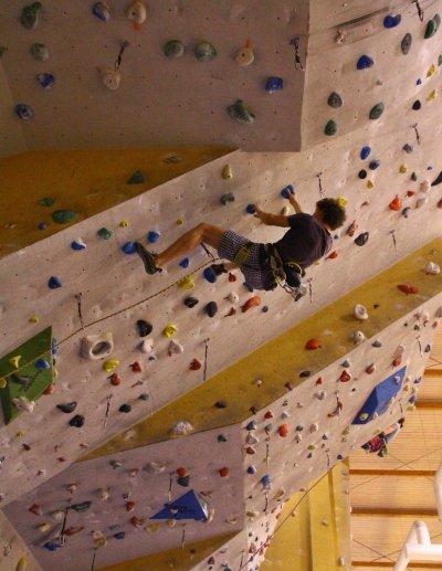 Omezení provozu lezecké stěny