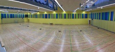 Nová hala pro badminton