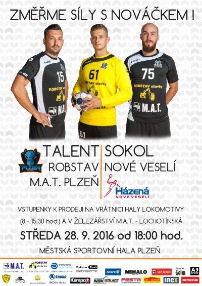 SSK Talent M.A.T. Plzeň - Sokol Nové Veselí