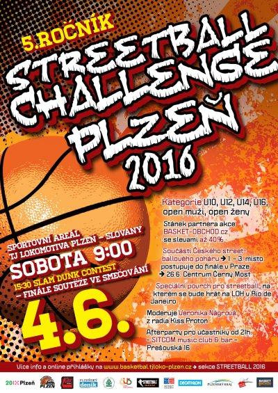 Streetball Chalenge Plzeň 2016