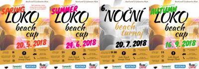 "Beach turnaje ""Loko Beach Cupy"" jsou zde i letos"