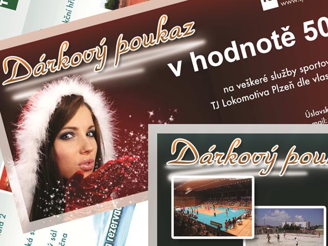 Dárkové poukazy TJ Lokomotiva Plzeň